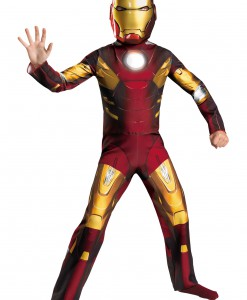 Child Avengers Iron Man Mark VII Costume