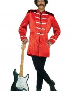 British Explosion Red Adult Costume