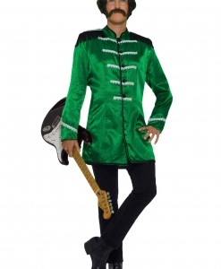 Adult Green British Explosion Costume