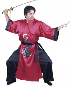 Red Samurai Adult Costume