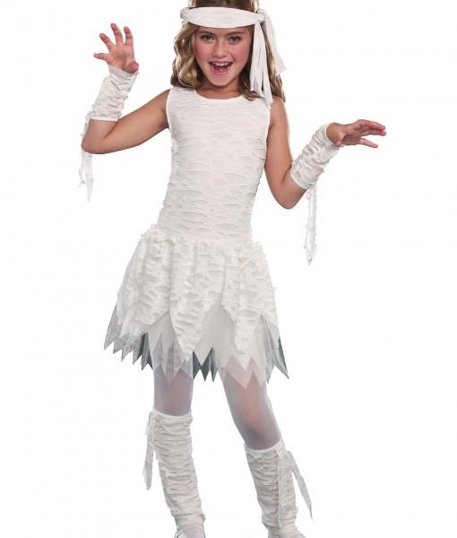 Girls Wrap it Up Mummy Costume