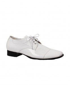 Men's White Dress Shoes
