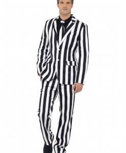 Men's Humbug Striped Suit