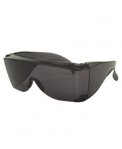 Large Cover Over Dark Sunglasses