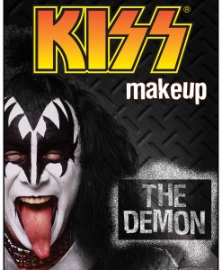 Gene Simmons Demon KISS Makeup