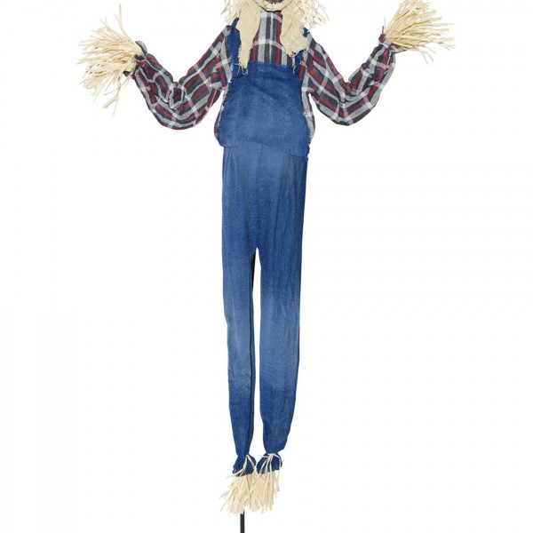 Animated standing scarecrow halloween costume ideas 2016 for Animated scarecrow decoration