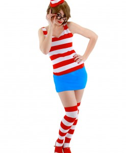 Sexy Waldo Dress Costume