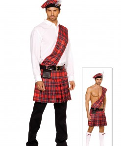 Plus Size Men's Scottish Costume
