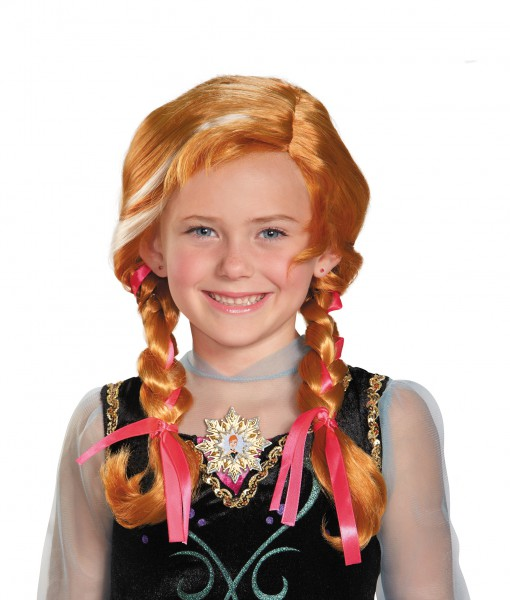 Frozen Anna Child Wig