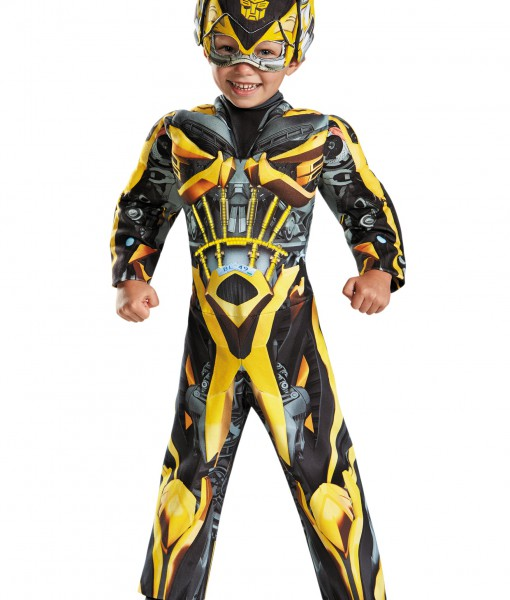 Toddler Transformers 4 Light Up Bumble Bee Costume