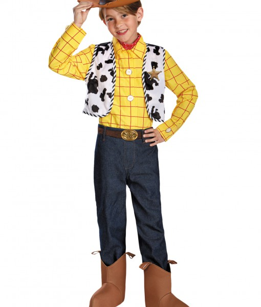 Boys Prestige Woody Costume