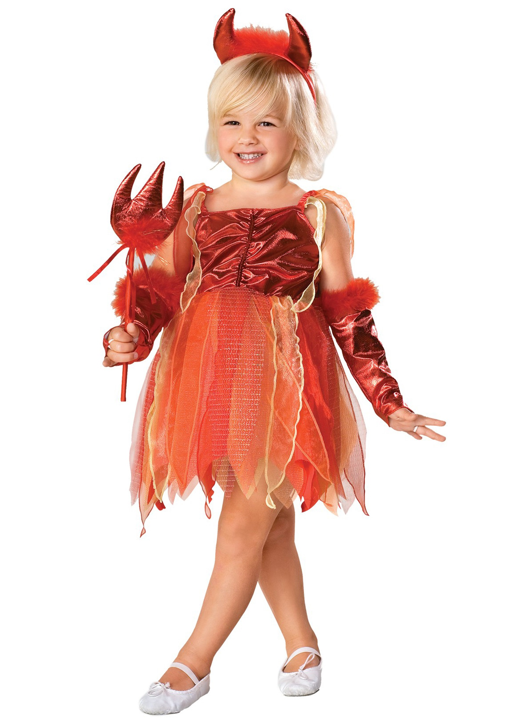 girls toddler devil costume - halloween costume ideas 2018