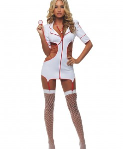 Women's Cut Out Nurse Costume