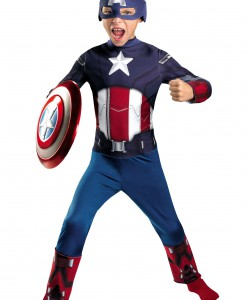 Kids Avengers Captain America Costume