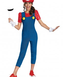 Tween Girls Mario Costume