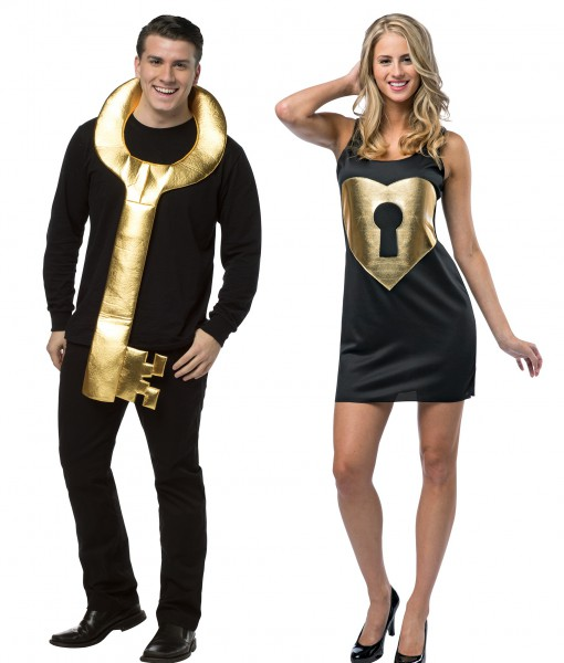 Halloween Duo Costumes 2019.Lock And Key Couples Costume