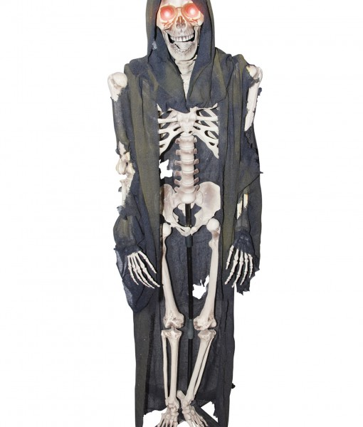Standing Light Up Skeleton Reaper