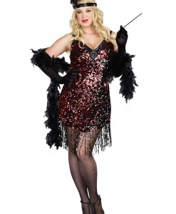 Great gatsby halloween costumes ideas plus size dames like us flapper costume solutioingenieria Gallery