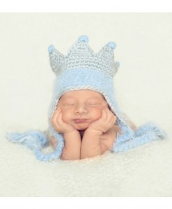 Infant Blue King Hat