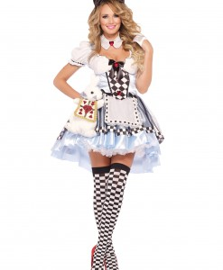 Plus Size Delightful Alice Costume
