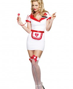 Women's Nurse Jess Bendover Costume
