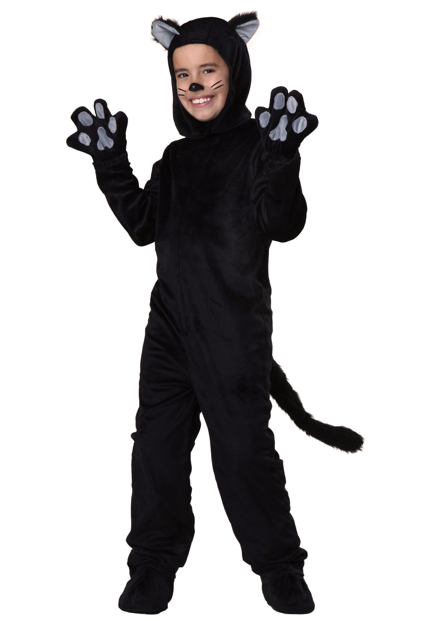 Halloween Costumes For Kids Boys 10 And Up.Child Black Cat Costume