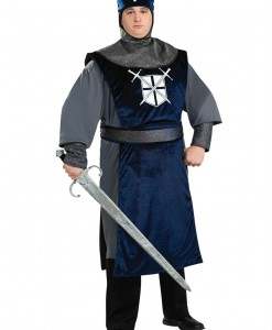Plus Size Knight of the Round Table Costume