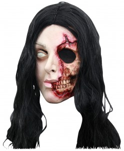 Pretty Zombie Woman Mask