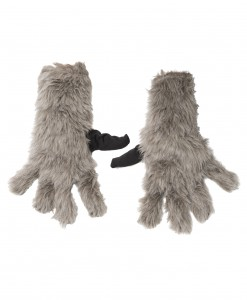 Child Rocket Raccoon Gloves