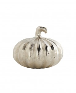 6 Inch Nickel Pumpkin