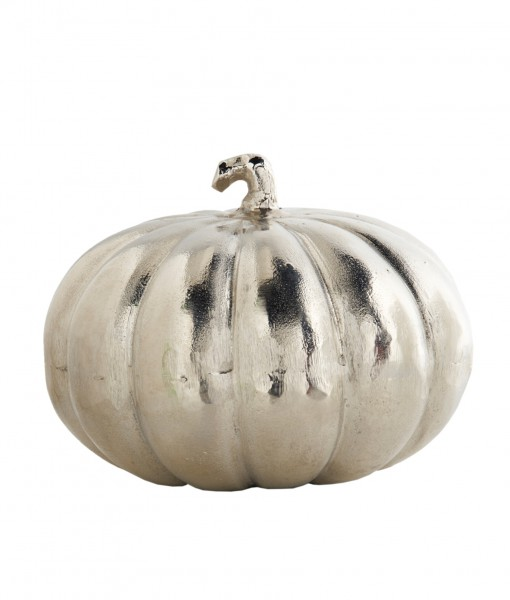 10 Inch Nickel Pumpkin