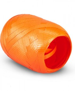 Tropical Orange Curling Ribbon - 50'