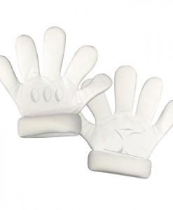 Super Mario Bros. Deluxe Adult Gloves