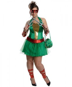 Teenage Mutant Ninja Turtles Raphael Adult Plus Dress