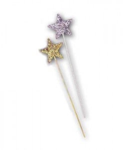 Sequin Star Wand