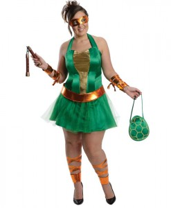 Teenage Mutant NinjaTurtles Michelangelo Adult Plus Dress