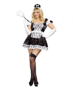Maid For You Sexy Plus Size Maid Dress