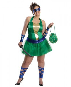 Teenage Mutant Ninja Turtles Leonardo Adult Plus Dress