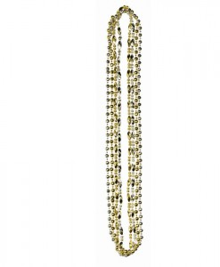 Hollywood Silver and Gold Necklaces (4 count)
