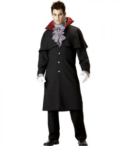 Edwardian Vampire Elite Collection Adult Costume - Clearance Size M and L