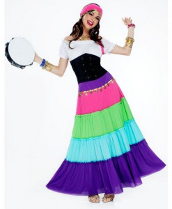 Renaissance Gypsy Adult Plus Size Costume