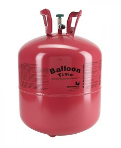 Disposable Helium Tank