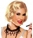 Honey Blonde Pin Curl Wig