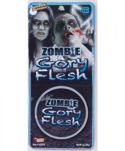 Zombie Gory Flesh Makeup
