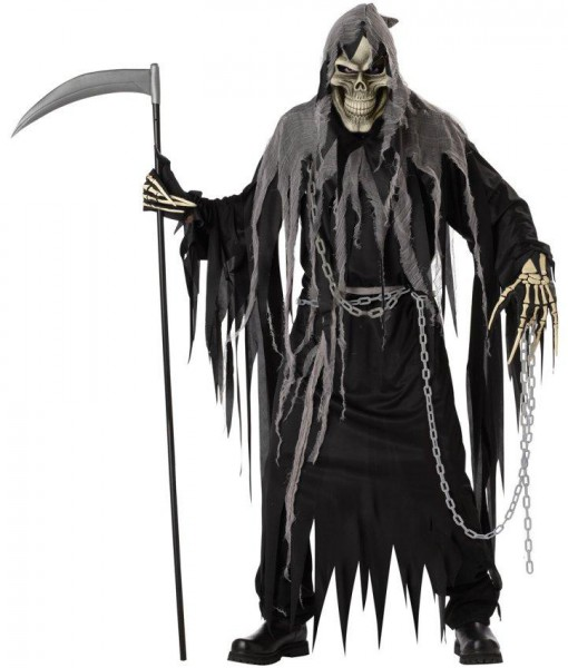 Mr. Grim Horror Robe Adult Costume