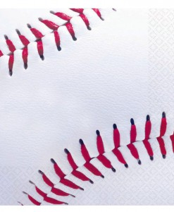 Baseball Fan - Lunch Napkins (16 count)