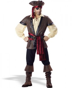 Rustic Pirate - Elite Adult Collection Costume
