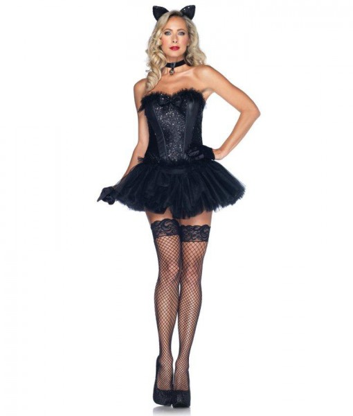 Black Cat Babe Adult Costume - Halloween Costume Ideas 2018 feb65e662