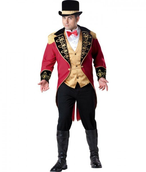 Ringmaster Adult Plus Costume