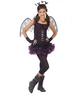 Night Wing Bat Teen Costume